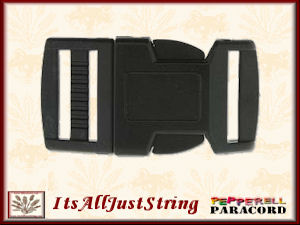 Para Cord Buckle 20mm 4 Black