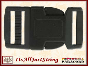 Para Cord Buckle 25mm 2 Black