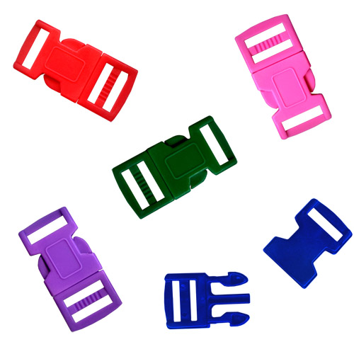 Para Cord Buckle 15mm - 5 Colors