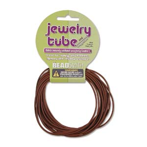 Jewelry Tube - 2mm - Brown