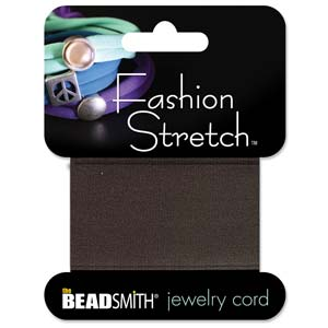 Fashion Stretch Brown-Dk 1 meter