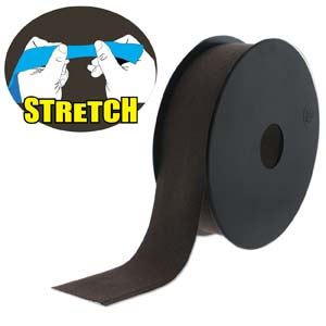 Fashion Stretch Brown-Dk 10 meter