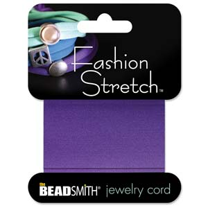 Fashion Stretch Purple-Dk 1 meter