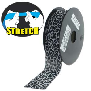 Fashion Stretch Snow Leopard Print 10 meter
