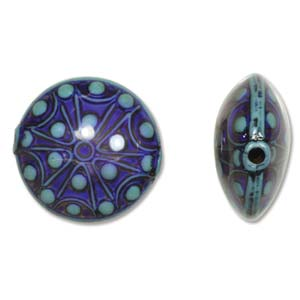 Mirage Bead Coin Star Gazer ID: 2.0mm - Qty-10 Bds