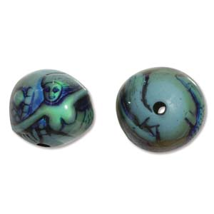Mirage Bead Spacer Mermaid Tale ID: 2.5mm - Qty-10 Bds