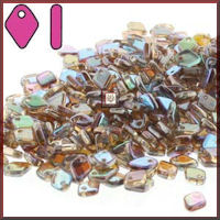 Dragon Scale 50 gm Crystal Brown Rainbow