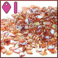 Dragon Scale 50 gm Crystal Orange Rainbow