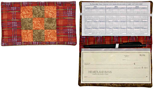 Checkbook Cover Pattern LGD-0204