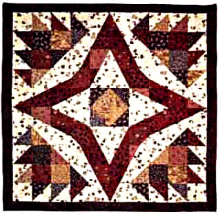 Star Patch Paws Quilt Pattern LGD-0214