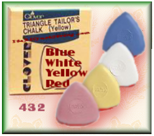 Triangle Tailors Chalk � YELLOW