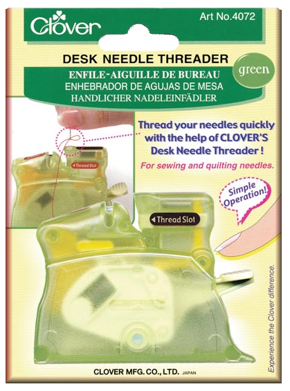 Desk Needle Threader � Green