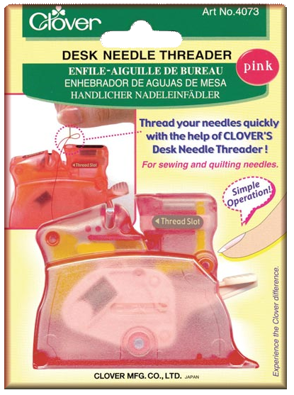 Desk Needle Threader � Pink
