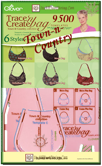 Town-n-Country Purses Trace-n Create � Pink