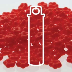 Forget-Me-Not Lt Red Opaque 20gm Ships Jan 15