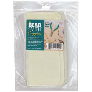 Bead Mat 2pc 8 X 8 Cream Color