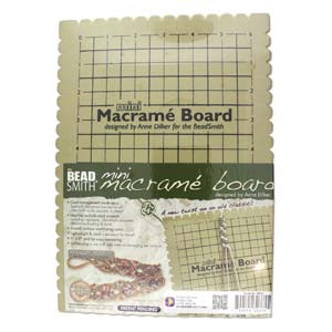 Beadsmith Macrame Board Mini - 7.5 X 10.5 In