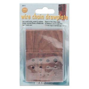 Wire Draw Plate - Wood