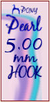 Pearl H 5.00mm Hook