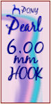 Pearl J 6.00mm Hook