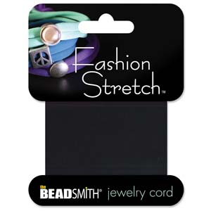 Fashion Stretch Black 1 meter