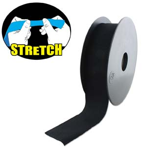 Fashion Stretch Black 10 meter