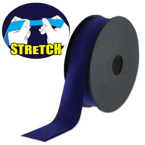 Fashion Stretch Navy Shiny 10 meter