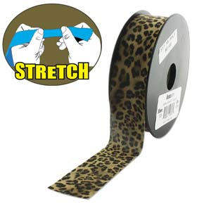 Fashion Stretch Leopard Print 10 meter