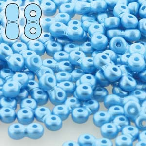 Infinity 4x8x2.7mm Pastel Turquoise - 50g