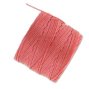 S-Lon Tex210 Bead 77 yd - Chinese Coral