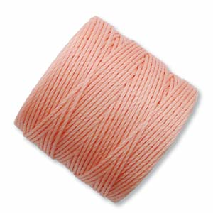 S-Lon Tex210 Bead 77 yd - Coral Pink